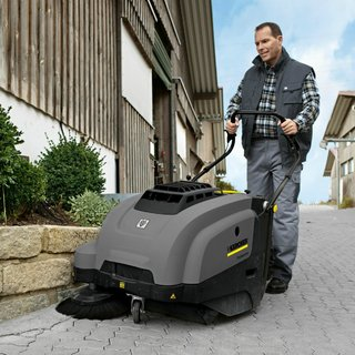 Karcher Small Pedestrian Sweeper